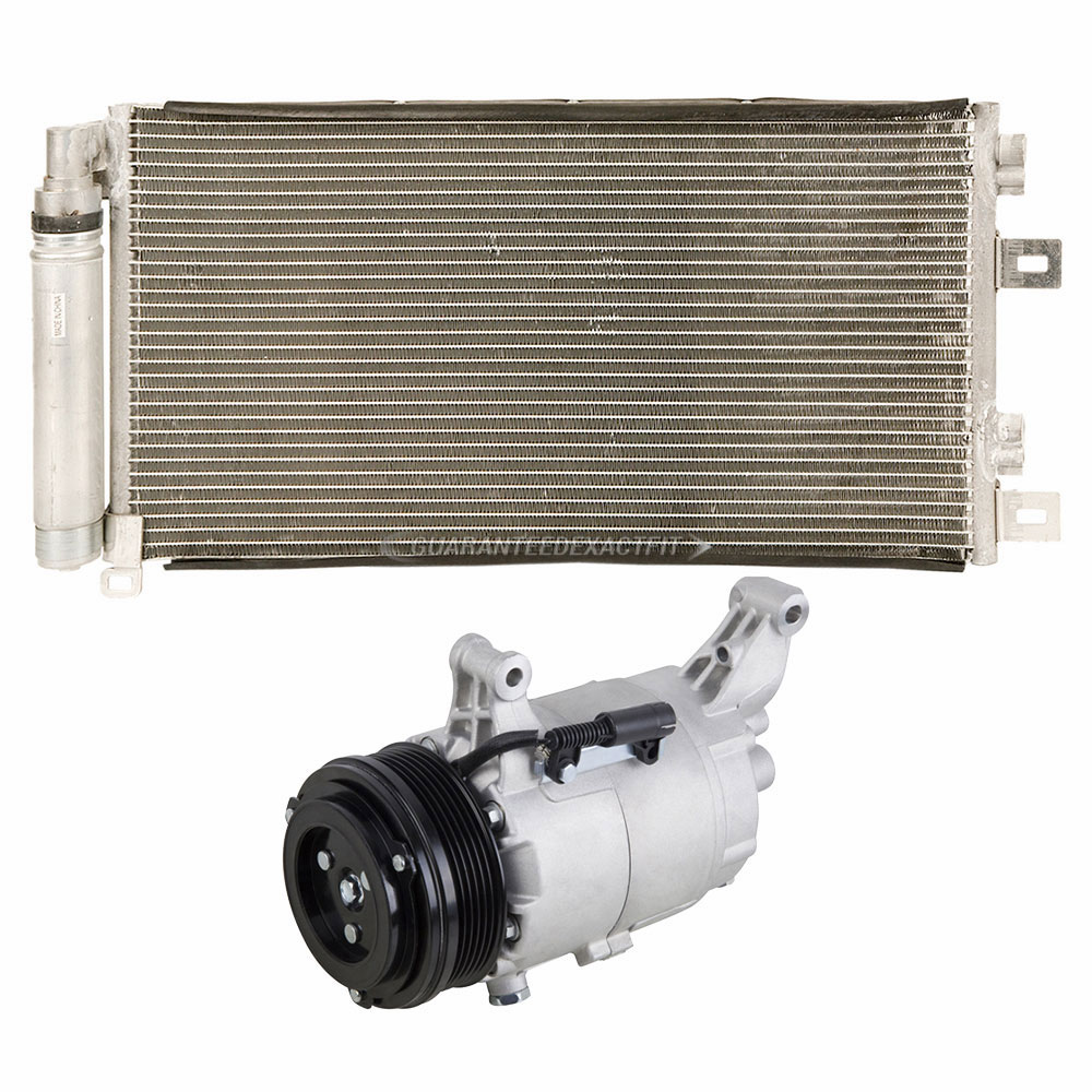 For 2008 Mini Cooper Convertible OEM AC Compressor W/ A/C