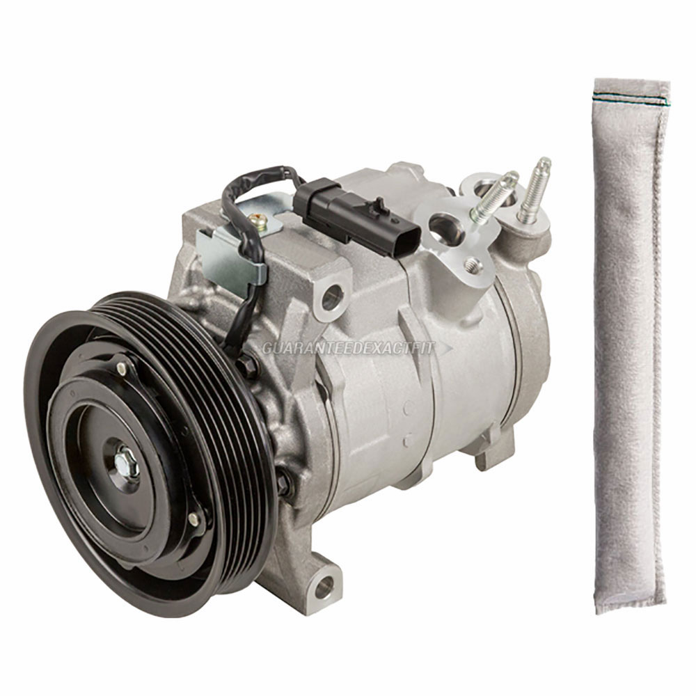 AC Compressor and Components Kits for Dodge Pick-up Truck 2010-2014 ...