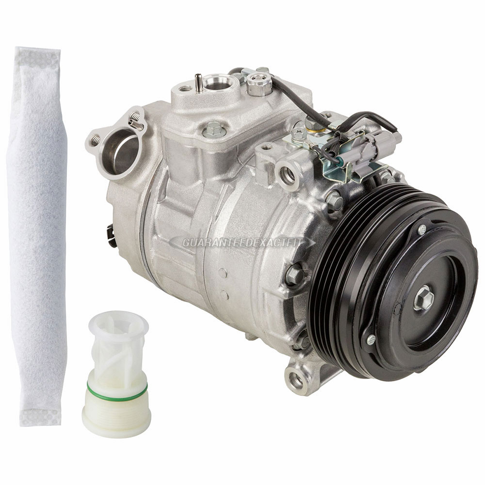 BMW 650i xDrive Gran Coupe A/C Compressor and Components Kit