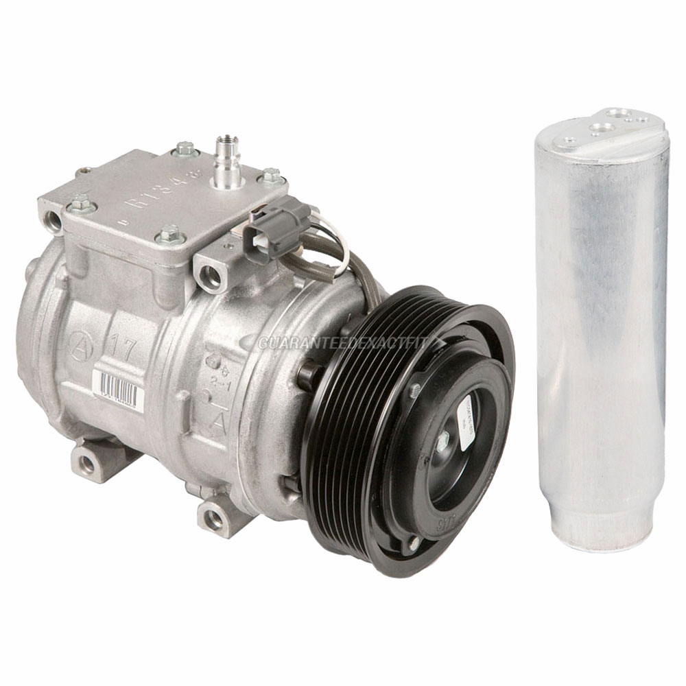 2001 Land Rover Discovery A/C Compressor And Components