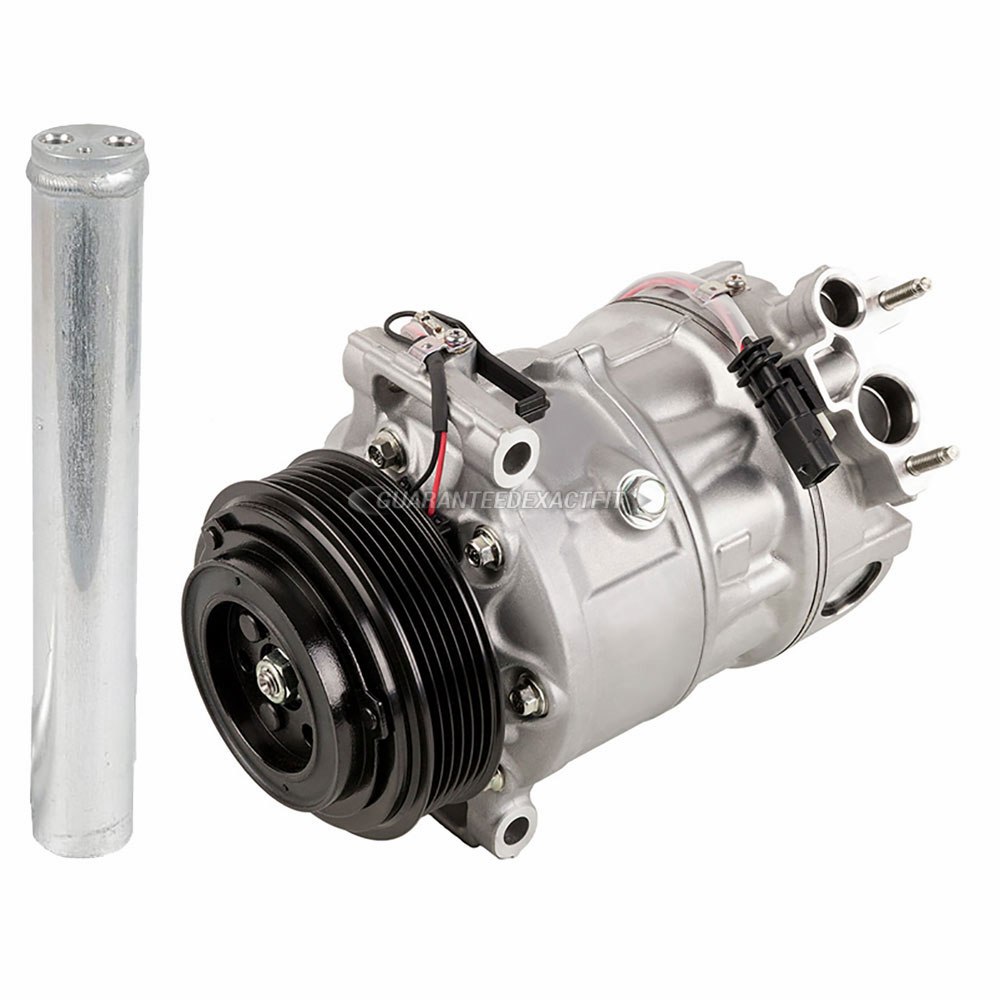2012 Land Rover LR4 A/C Compressor and Components Kit