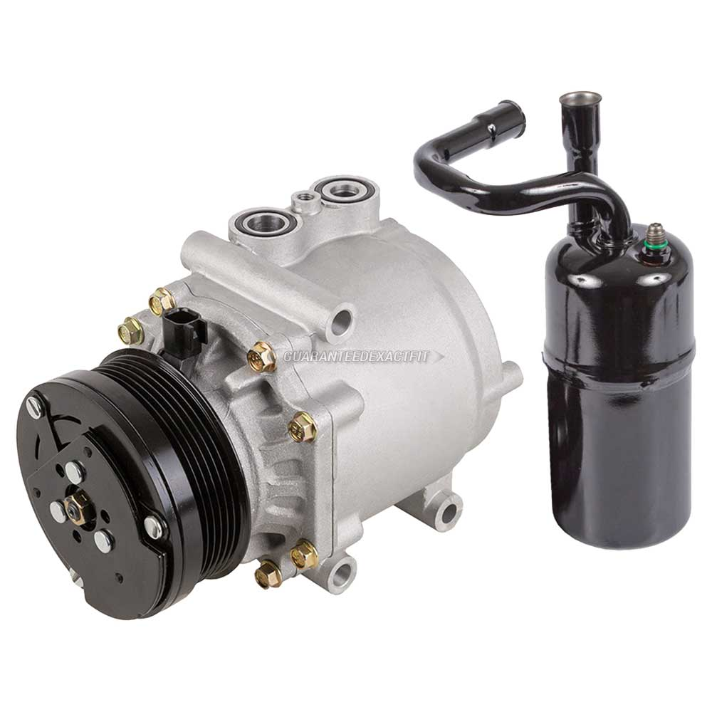 2004 Ford Crown Victoria A/C Compressor And Components Kit