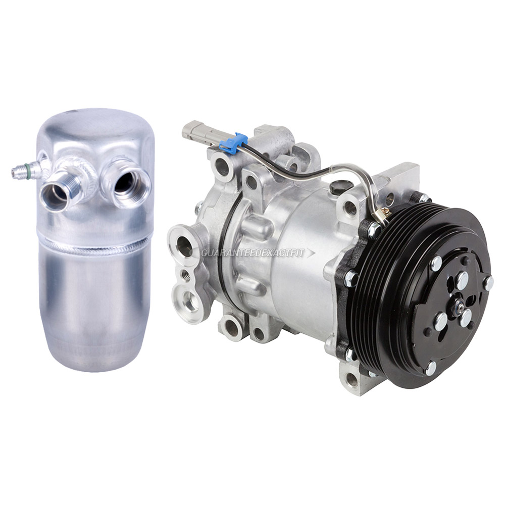 1996 GMC Suburban A/C Compressor and Components Kit