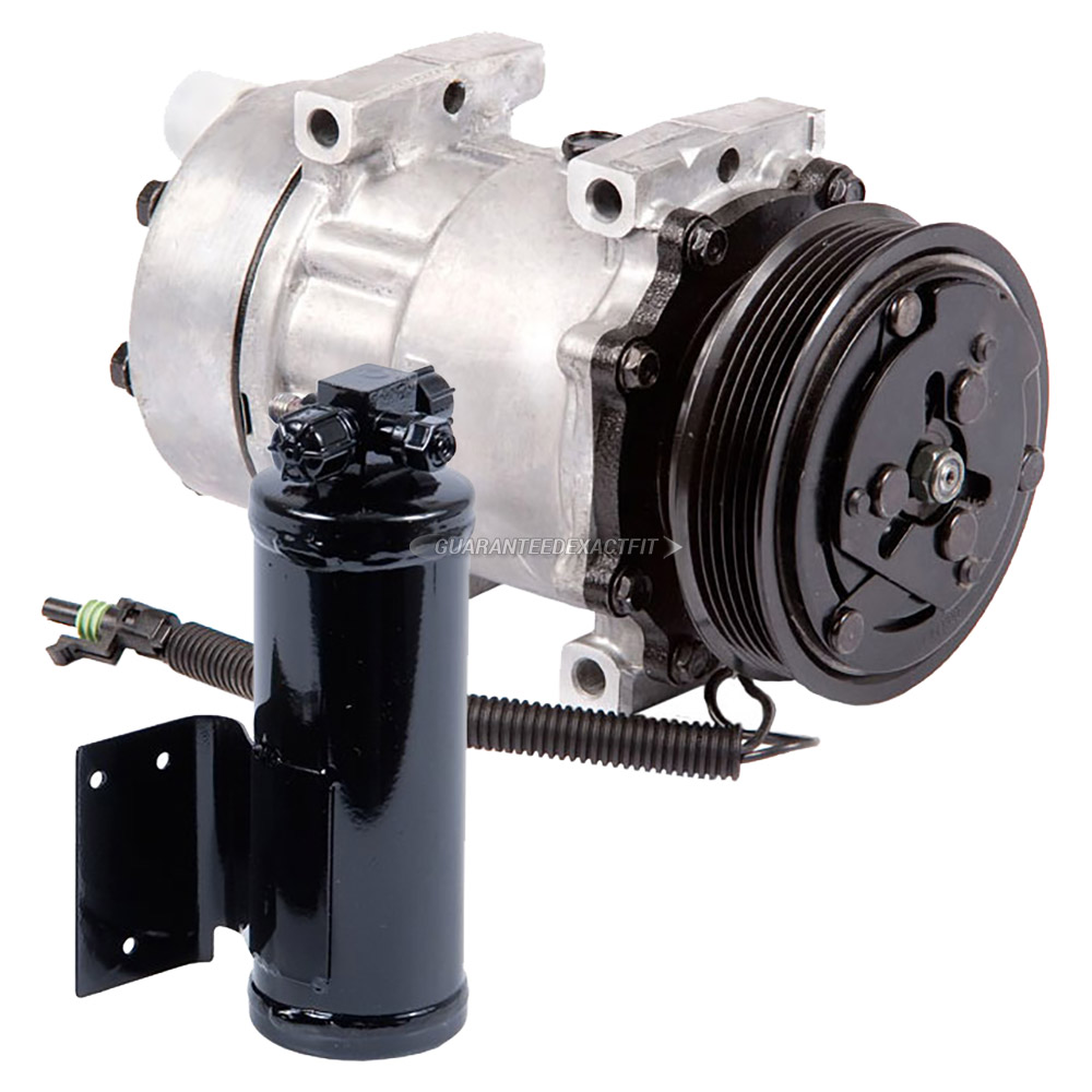 1994 Jeep Wrangler A/C Compressor and Components Kit
