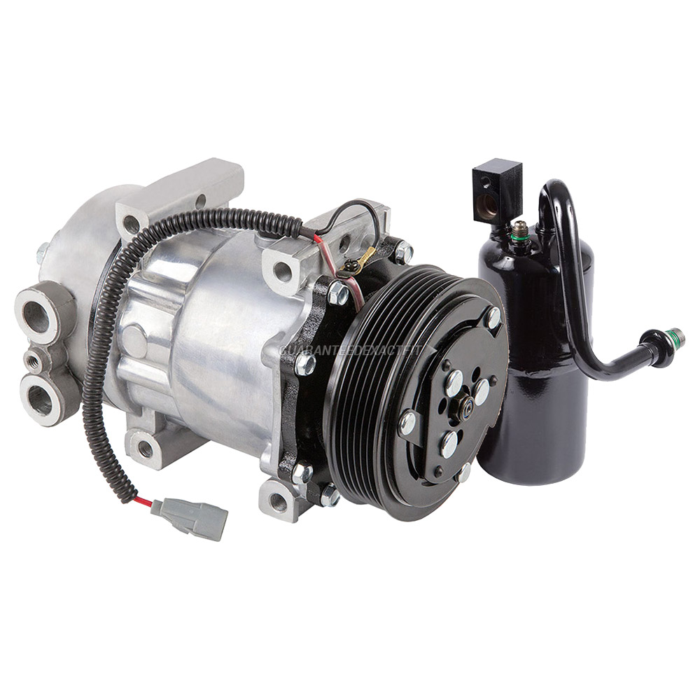 1998 Jeep Cherokee A/C Compressor And Components Kit 2.5L