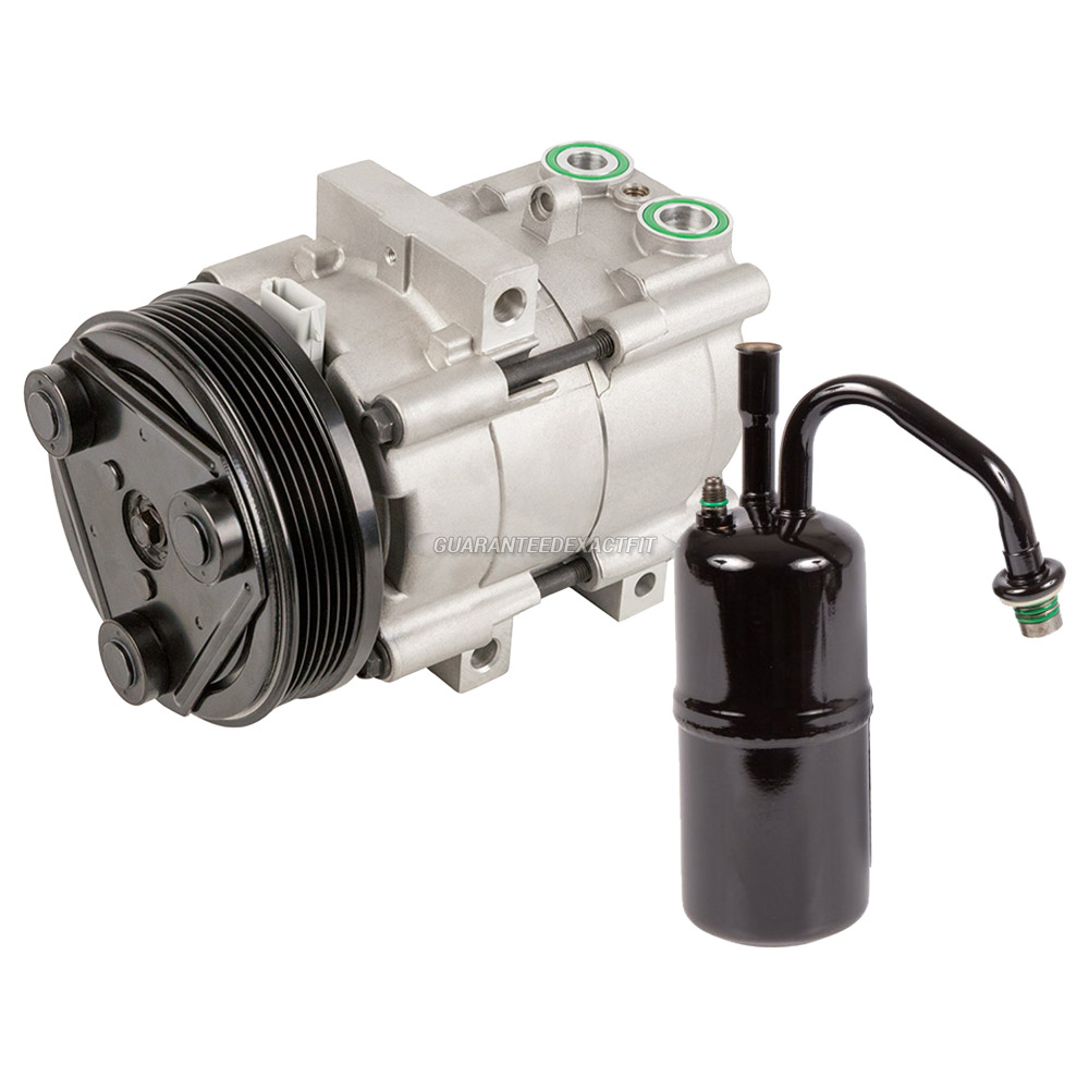 For Mercury Cougar 2000 2002 Replace 2fzw Remanufactured: 2000 Mercury Cougar A/C Compressor And Components Kit 2.5L