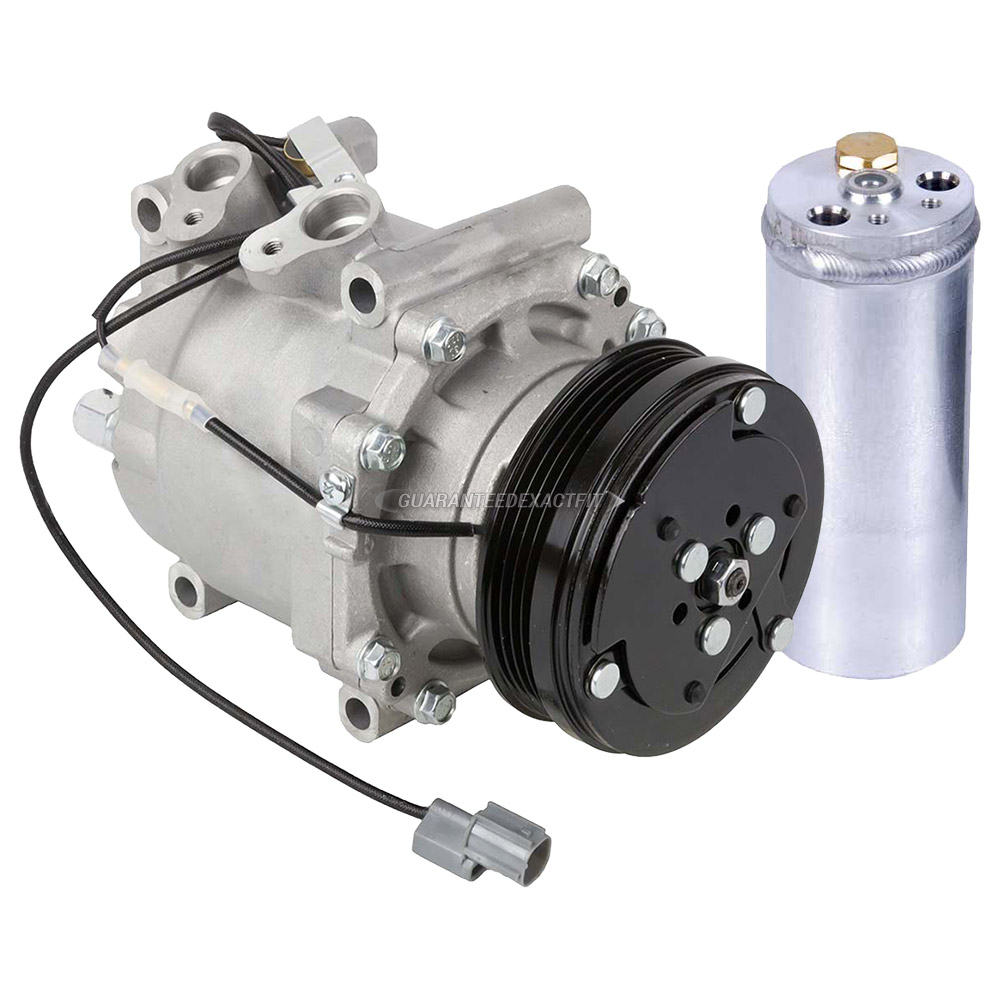 1998 Honda Civic A/C Compressor And Components Kit All