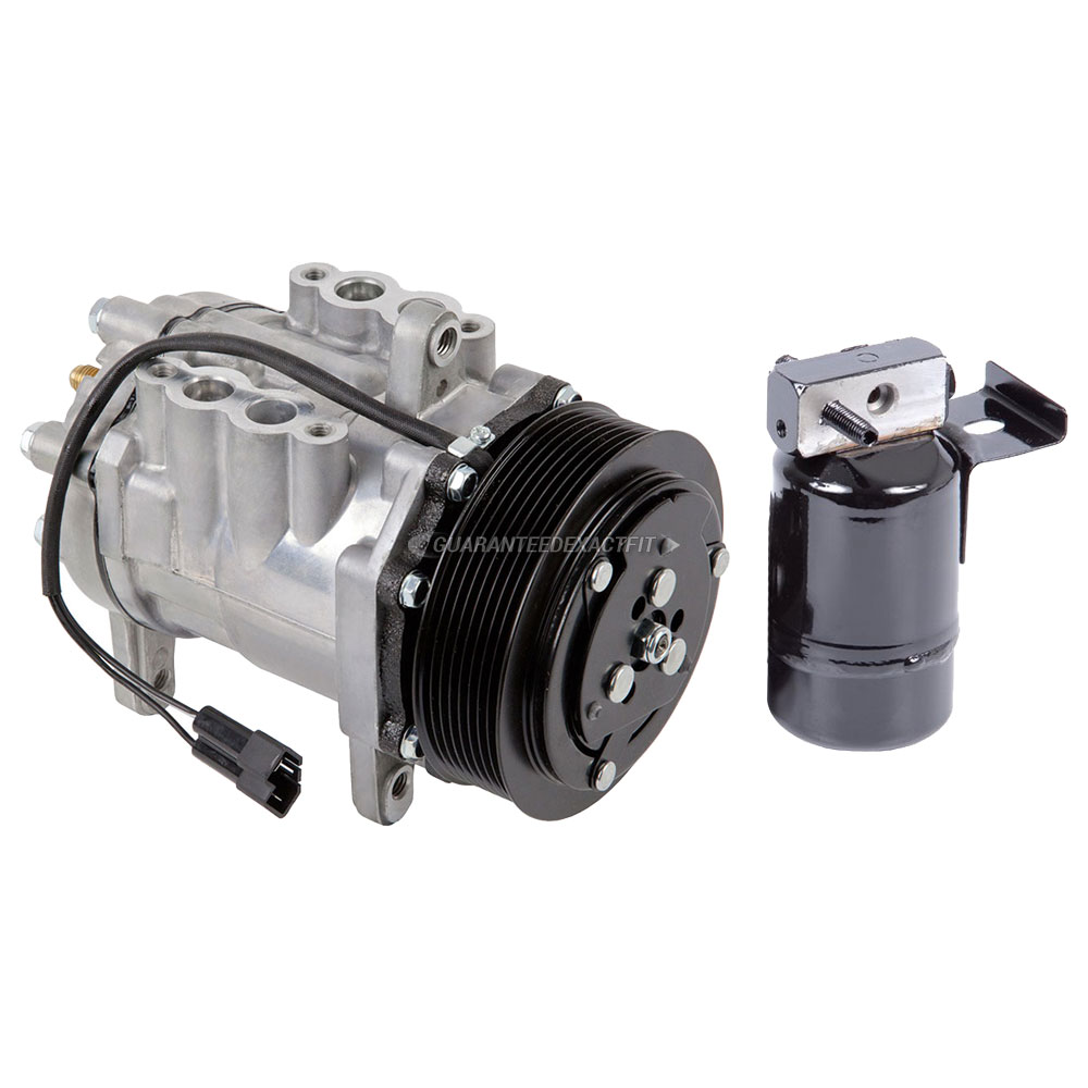 1989 Dodge Ramcharger A/C Compressor And Components Kit 5