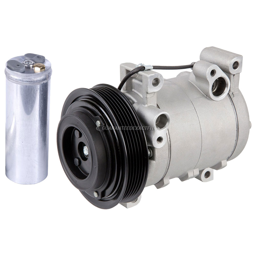 2002 Isuzu Axiom A/C Compressor and Components Kit