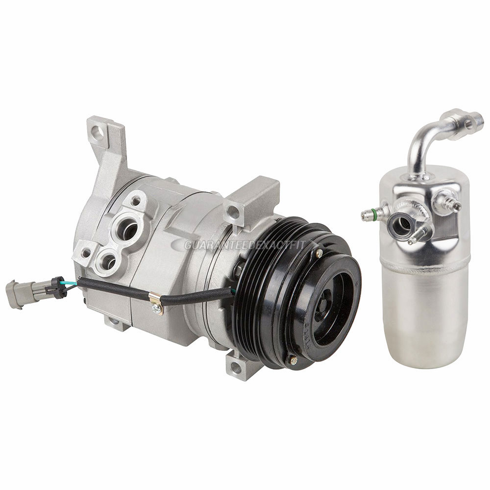 AC Compressor w// A//C Drier Exp For Chevy Buick Cadillac Pontiac Olds