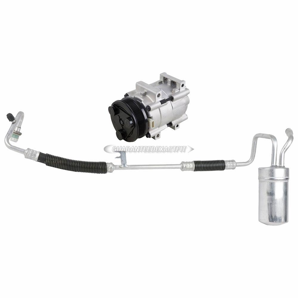 For Ford Taurus  U0026 Mercury Sable 2001 Ac Compressor W   A  C Drier Dac