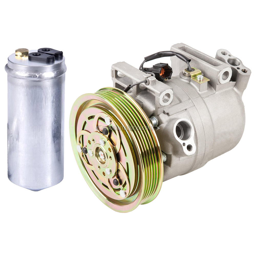 Nissan Frontier A/C Compressor and Components Kit
