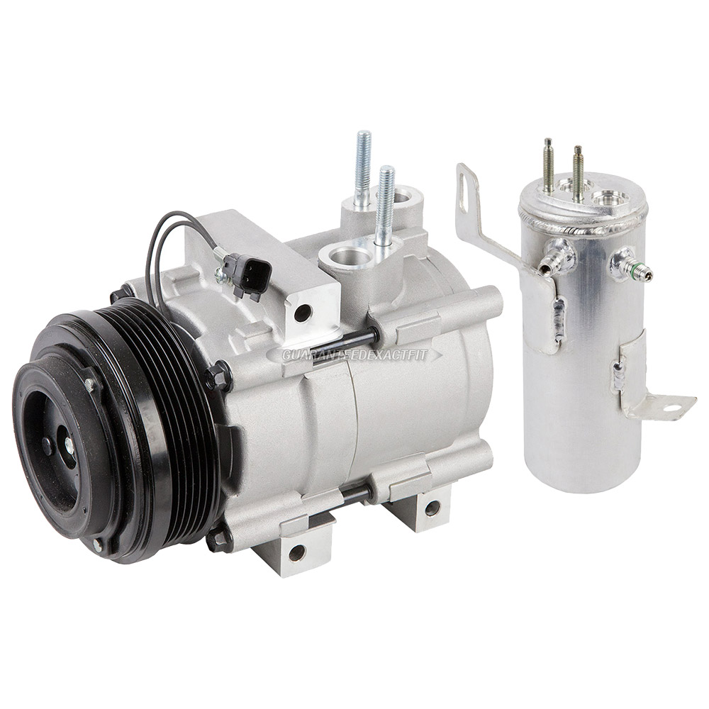 2010 Mercury Mountaineer A/C Compressor and Components Kit ...