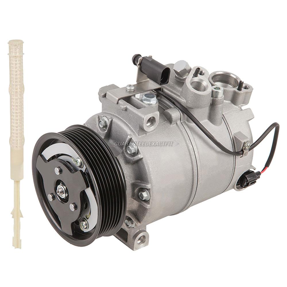 2007 Audi Q7 A/C Compressor And Components Kit 3.6L Engine