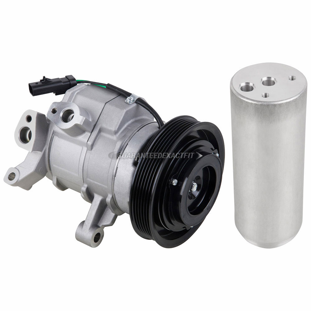 BuyAutoParts 60-86601R2 A/C Compressor and Components Kit