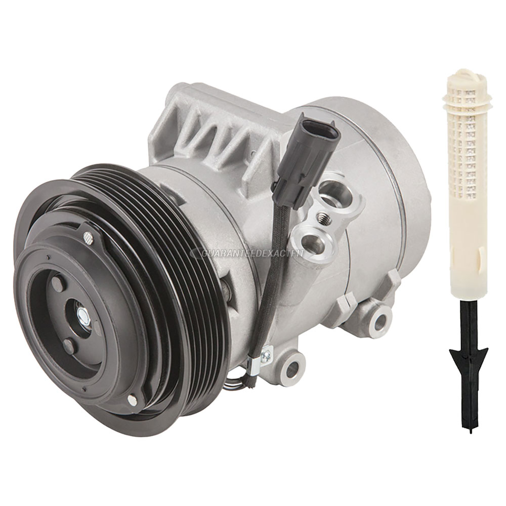 2007 Ford Fusion A/C Compressor and Components Kit