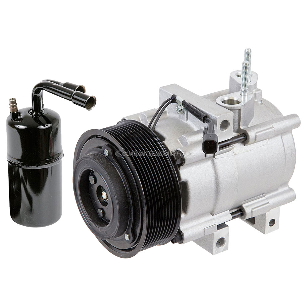 For Ford Mustang 2007 2008 2009 AC Compressor W/ A/C Drier