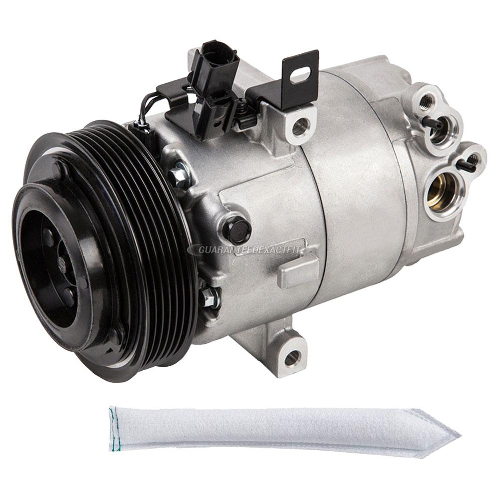 Hyundai Elantra Extended Warranty: 2011 Hyundai Elantra A/C Compressor And Components Kit 1