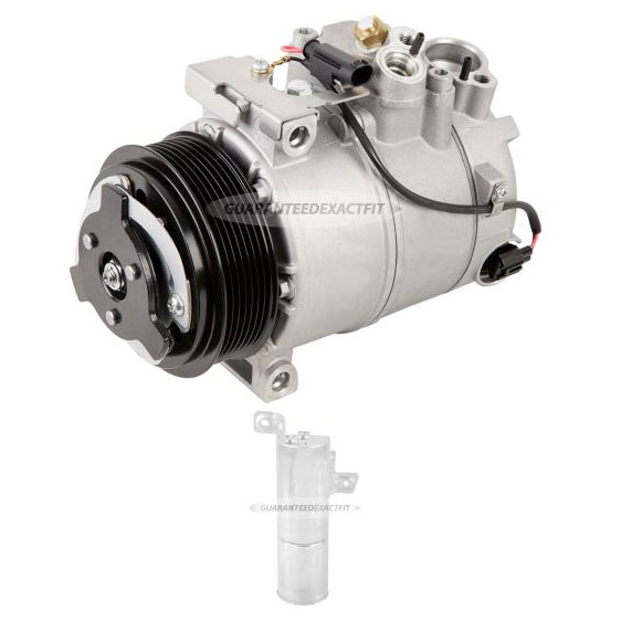 Mercedes_Benz CL63 AMG A/C Compressor and Components Kit