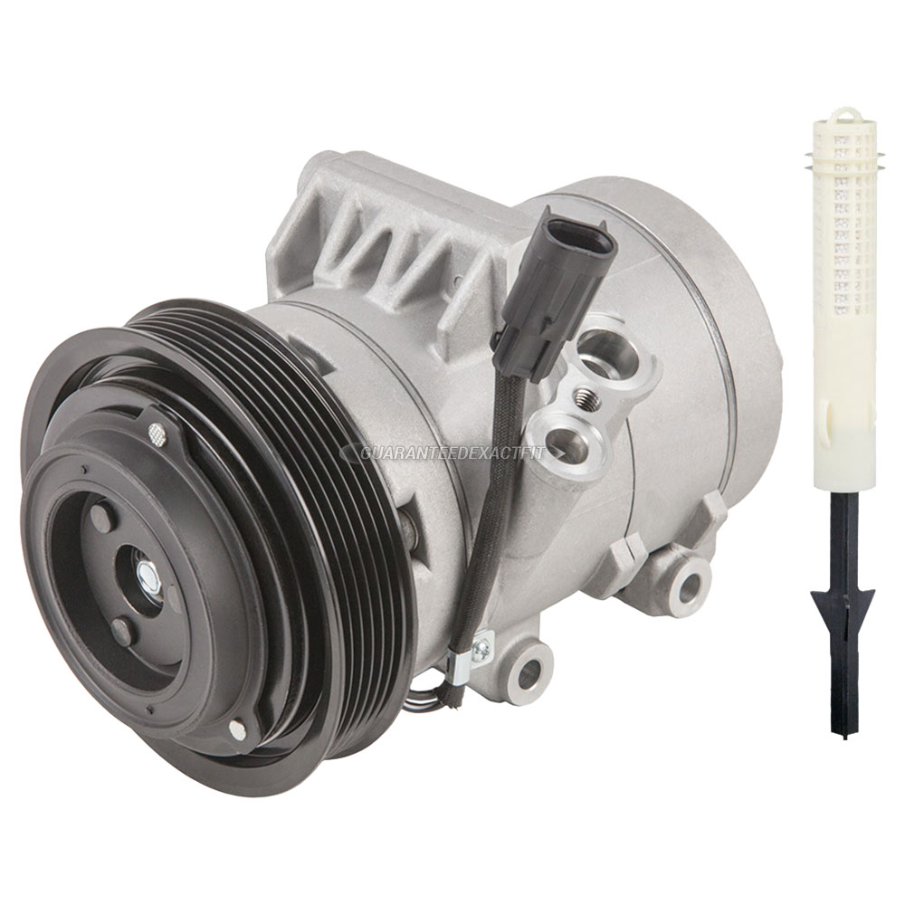 2012 Ford Fusion A/C Compressor And Components Kit 2.5L