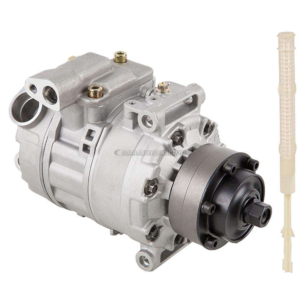 2008 Volkswagen Touareg 2 Transmission: 2008 Volkswagen Touareg A/C Compressor And Components Kit