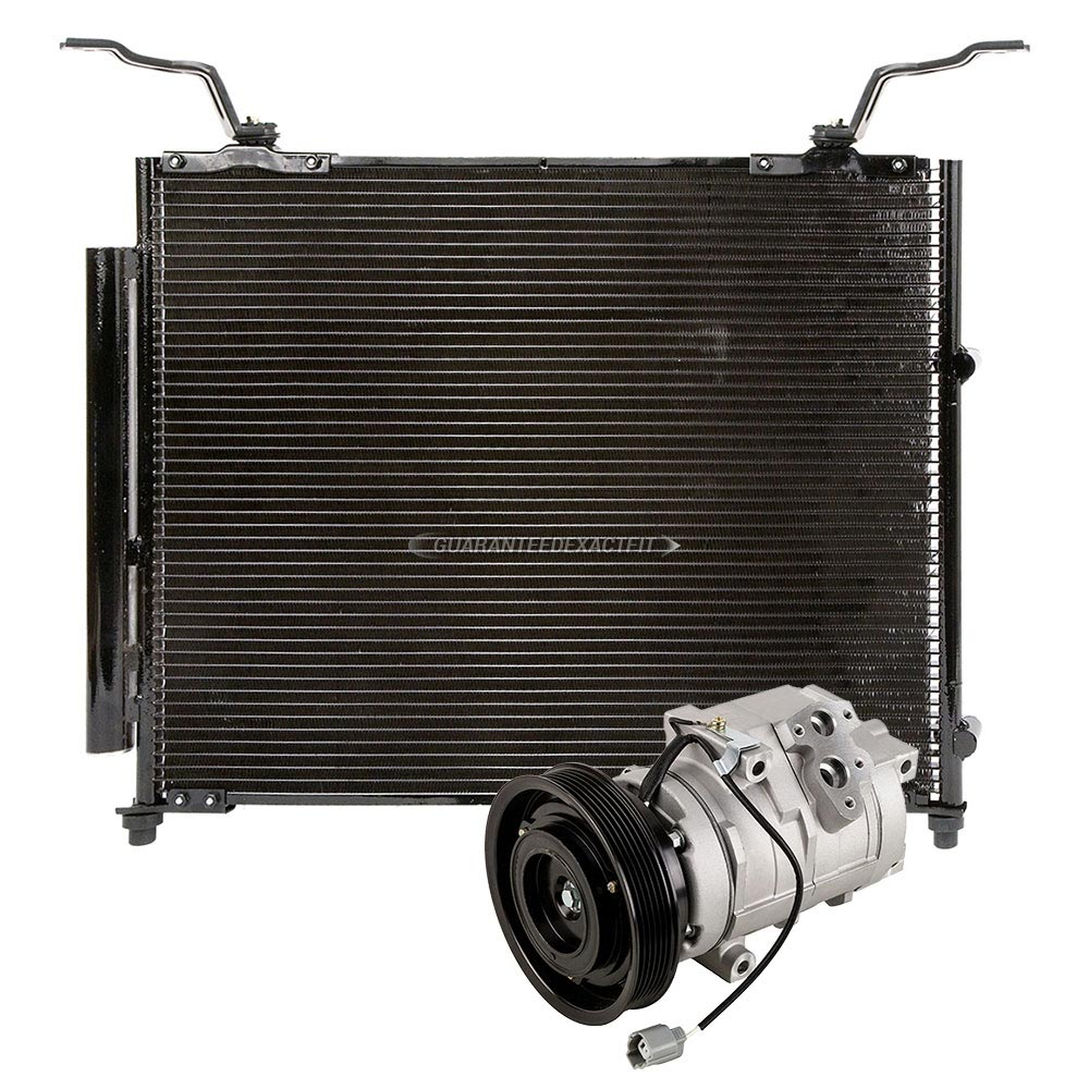 2002 Acura MDX A/C Compressor And Components Kit All