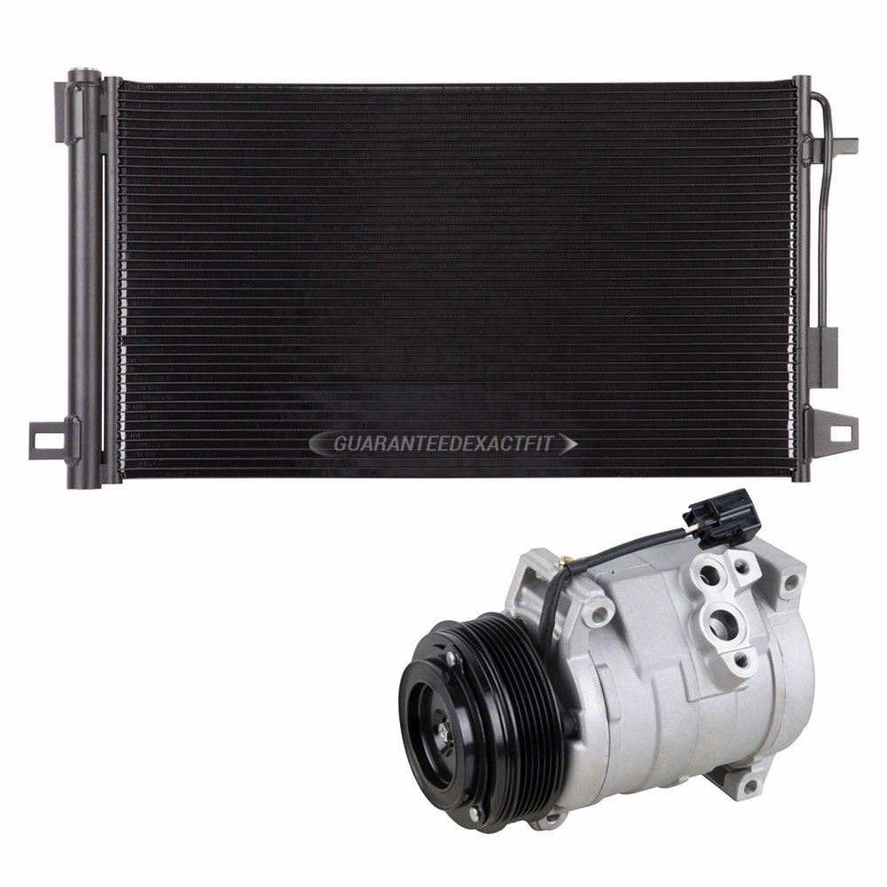 2009 GMC Acadia A/C Compressor And Components Kit All