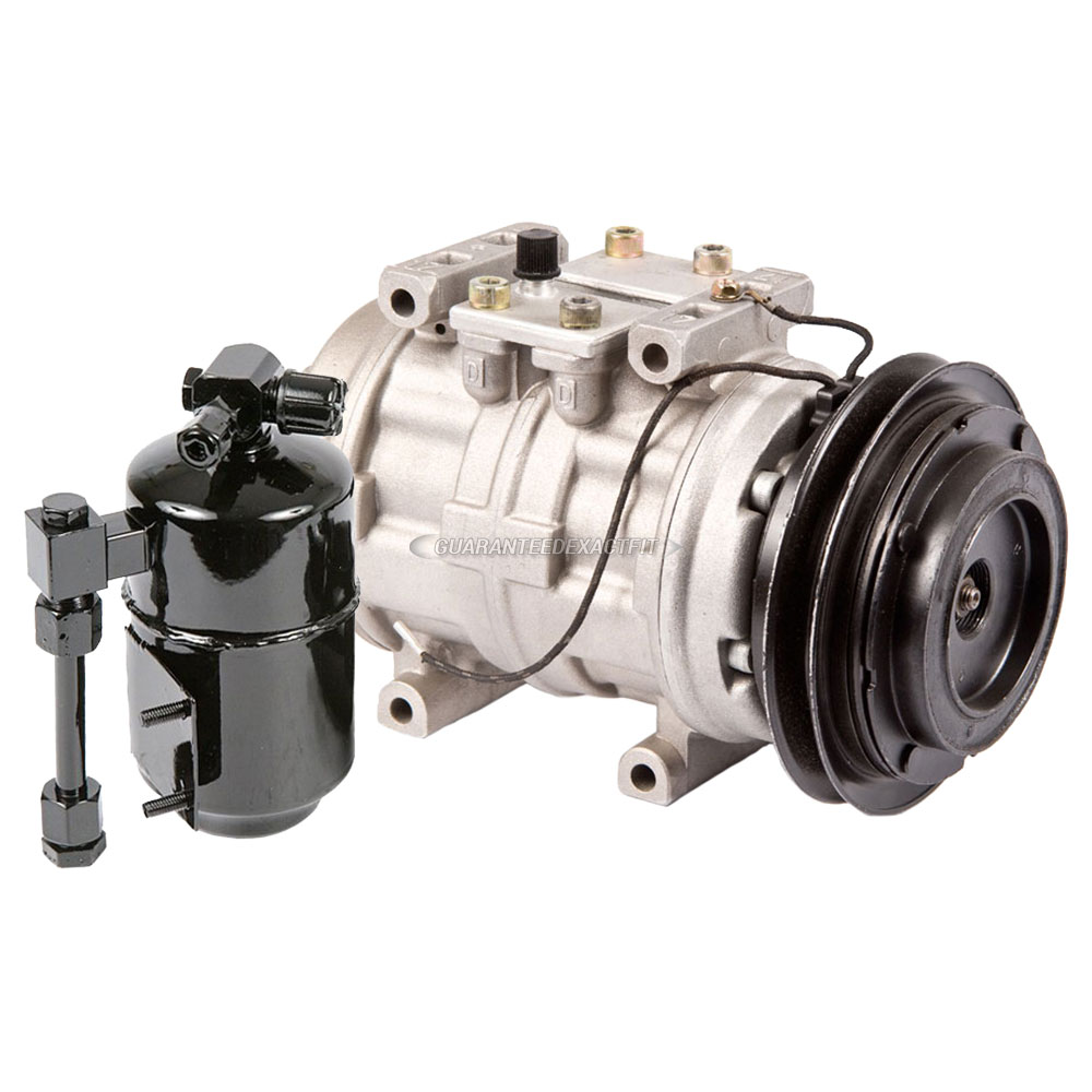 AC Compressor w// A//C Drier For Dodge Dakota 1988 1989 1990 1991