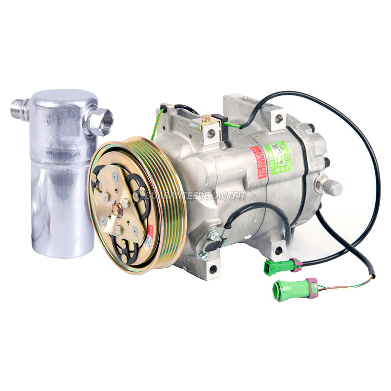 Audi Cabriolet A/C Compressor and Components Kit
