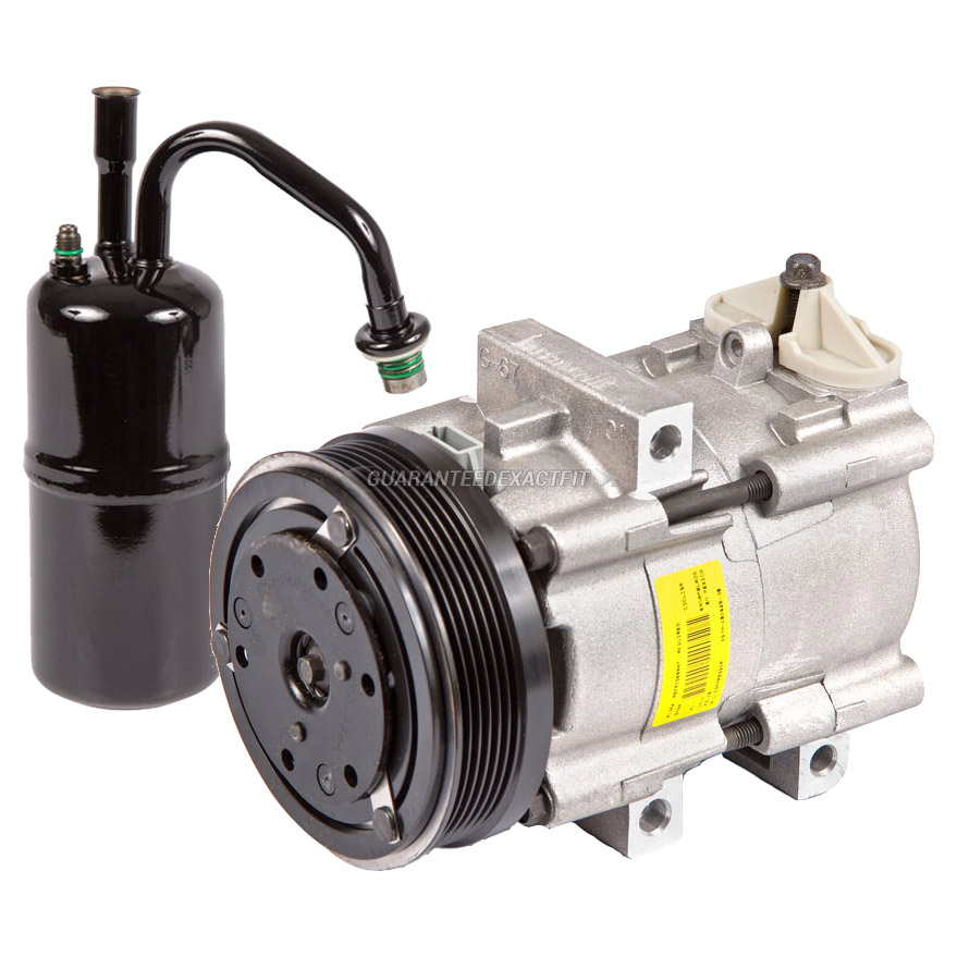 For Mercury Cougar 2000 2002 Replace 2fzw Remanufactured: 2000 Mercury Mystique A/C Compressor And Components Kit 2