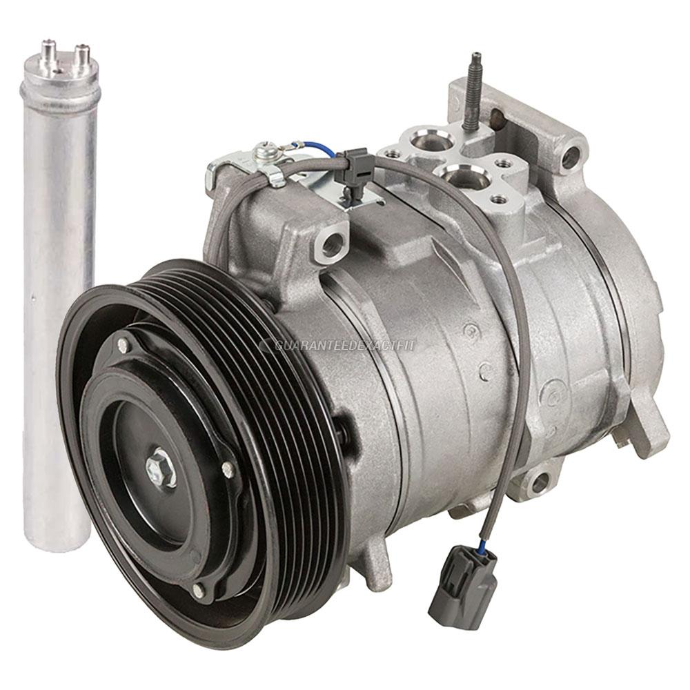 Oem Ac Compressor W   A  C Drier Fits Honda Accord 2003 2004