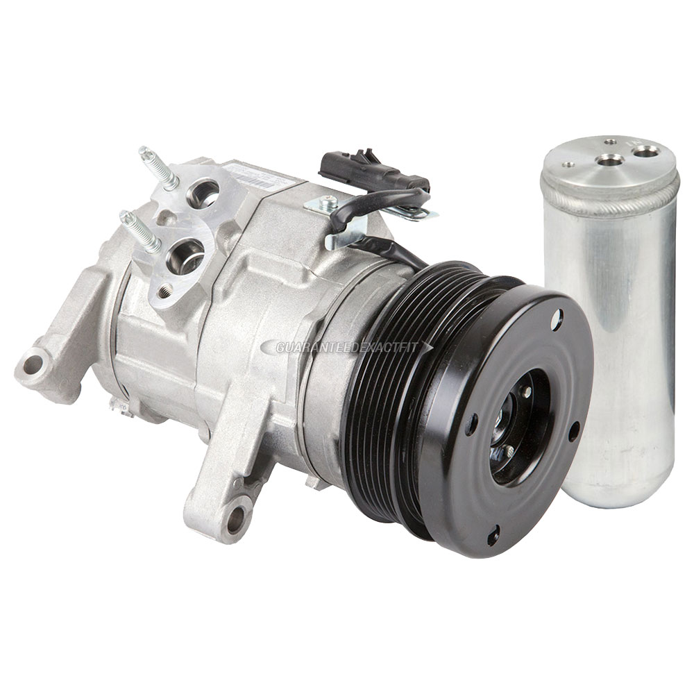 2007 Chrysler Aspen A/C Compressor And Components Kit 4.7L