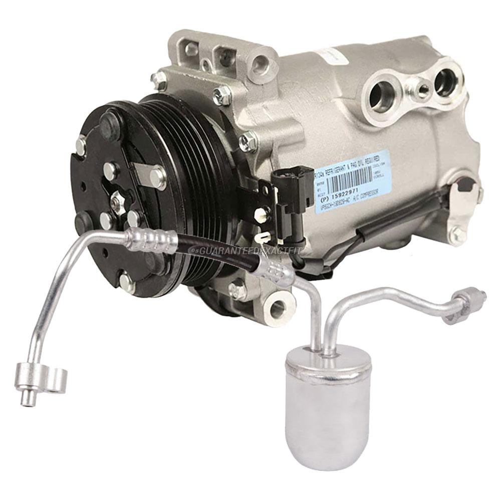 2002 saturn vue a c compressor and components kit 2 2l for Porte vue 60 feuilles