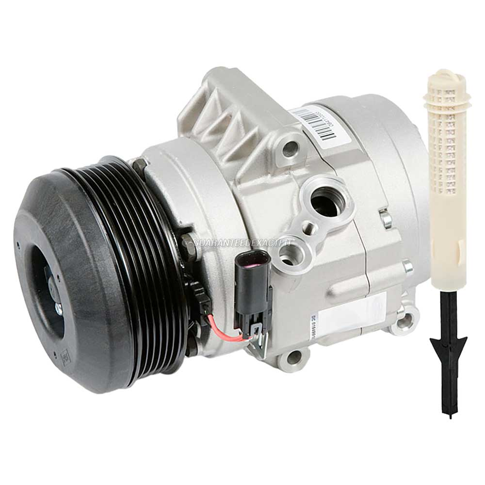 Mercury Milan A/C Compressor and Components Kit