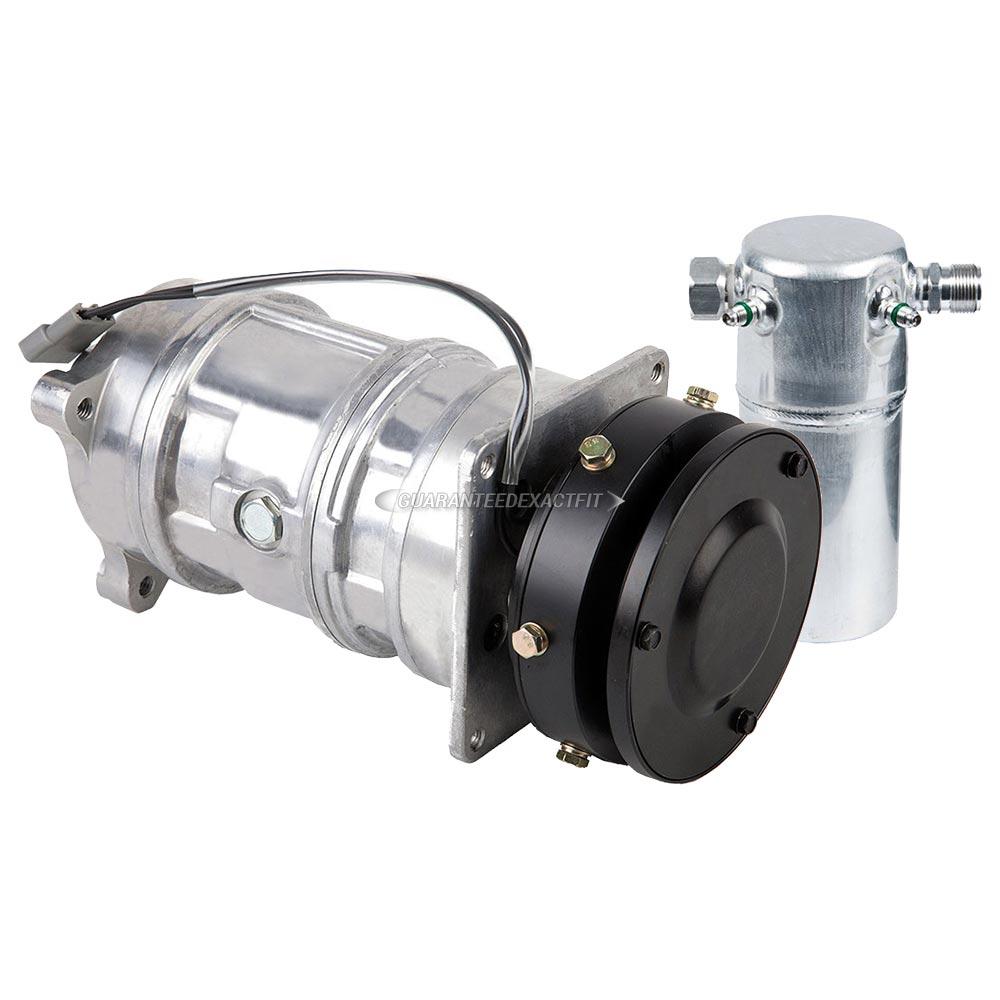 AC Compressor W/ A/C Drier For Chevy G20 & G30 1987-1992