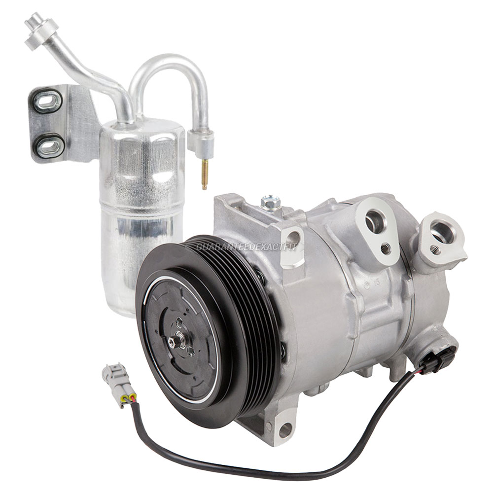 2009 Jeep Compass A/C Compressor And Components Kit All