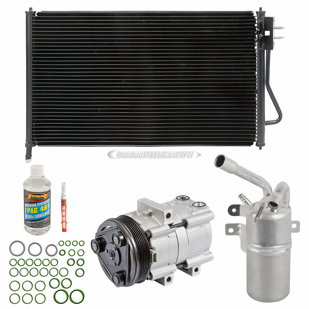 For Ford Focus SVT 2003 2004 A/C Kit W/ AC Compressor
