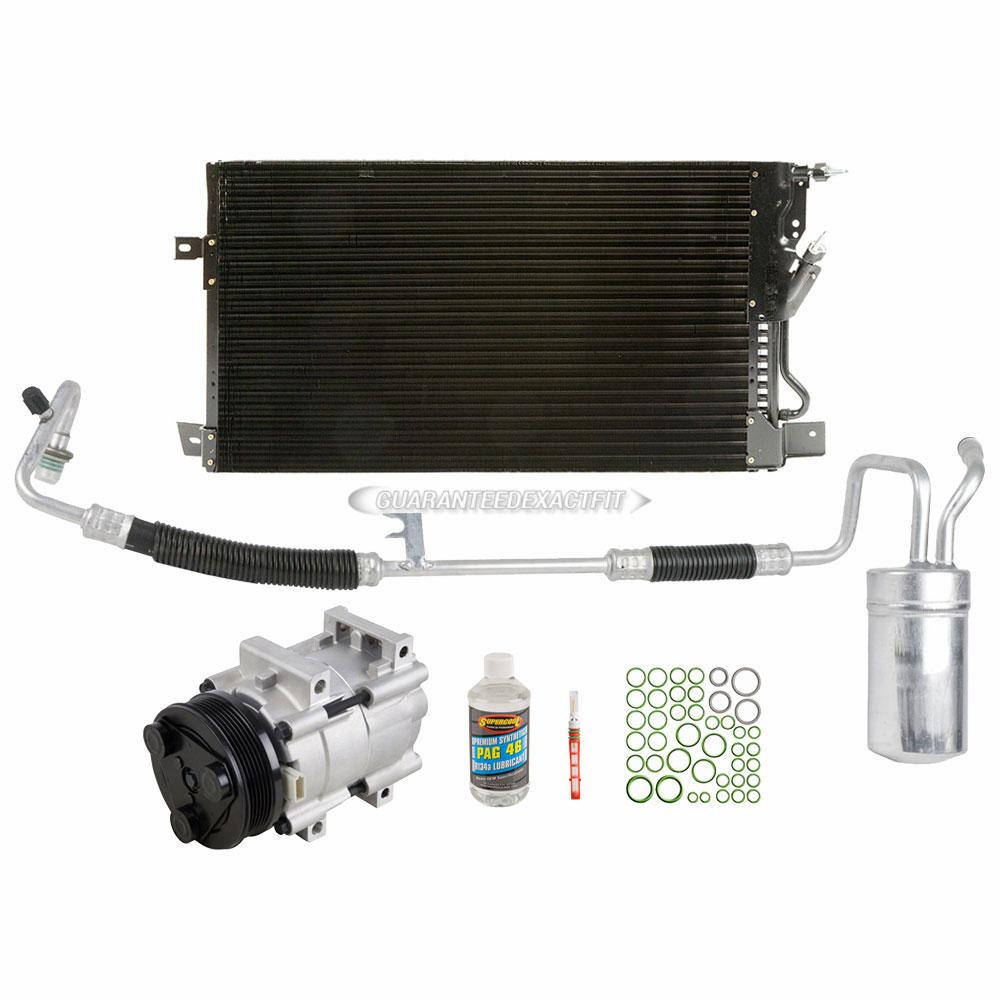 For 2001 Ford Taurus Mercury Sable A  C Kit W   Ac Compressor Condenser Drier Dac