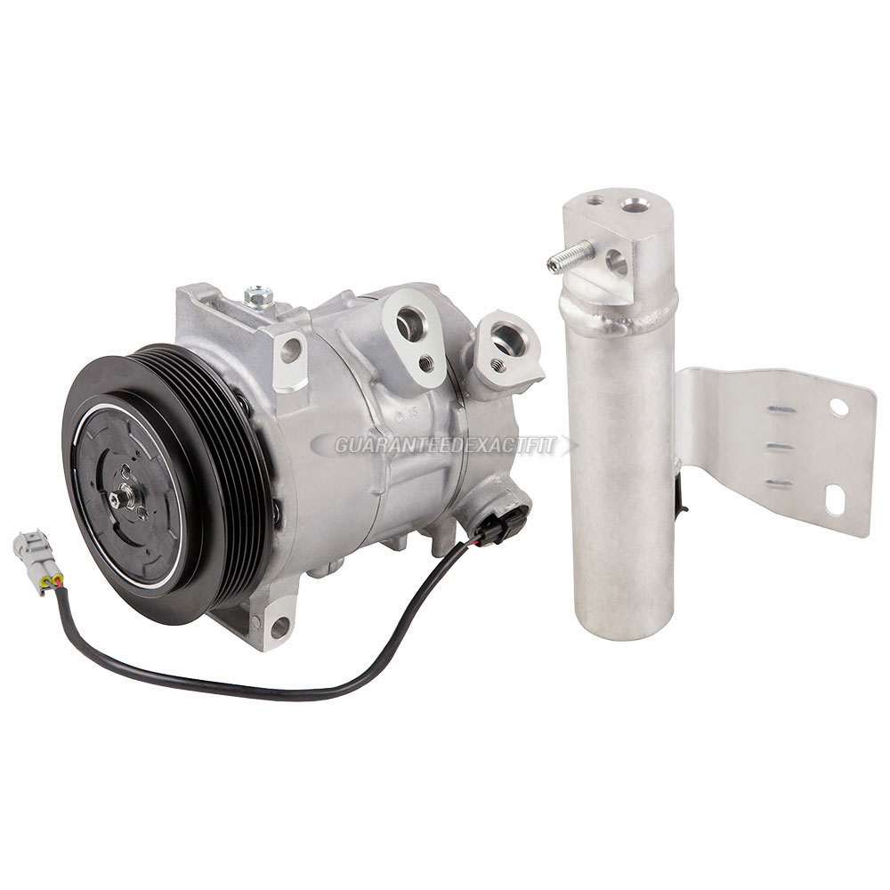For Jeep Compass /& Patriort 2012 2013 2014 2015 AC Compressor w//A//C Drier BuyAutoParts 60-89575R2 New