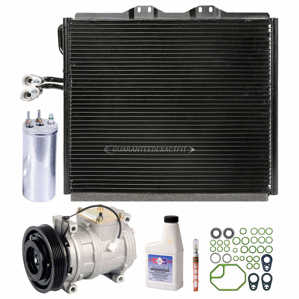 Ac Compressor And Components Kits For Jeep Wrangler 2000 2002 25l Wiring Harness Gallery Of Cars Accessories A C Kit