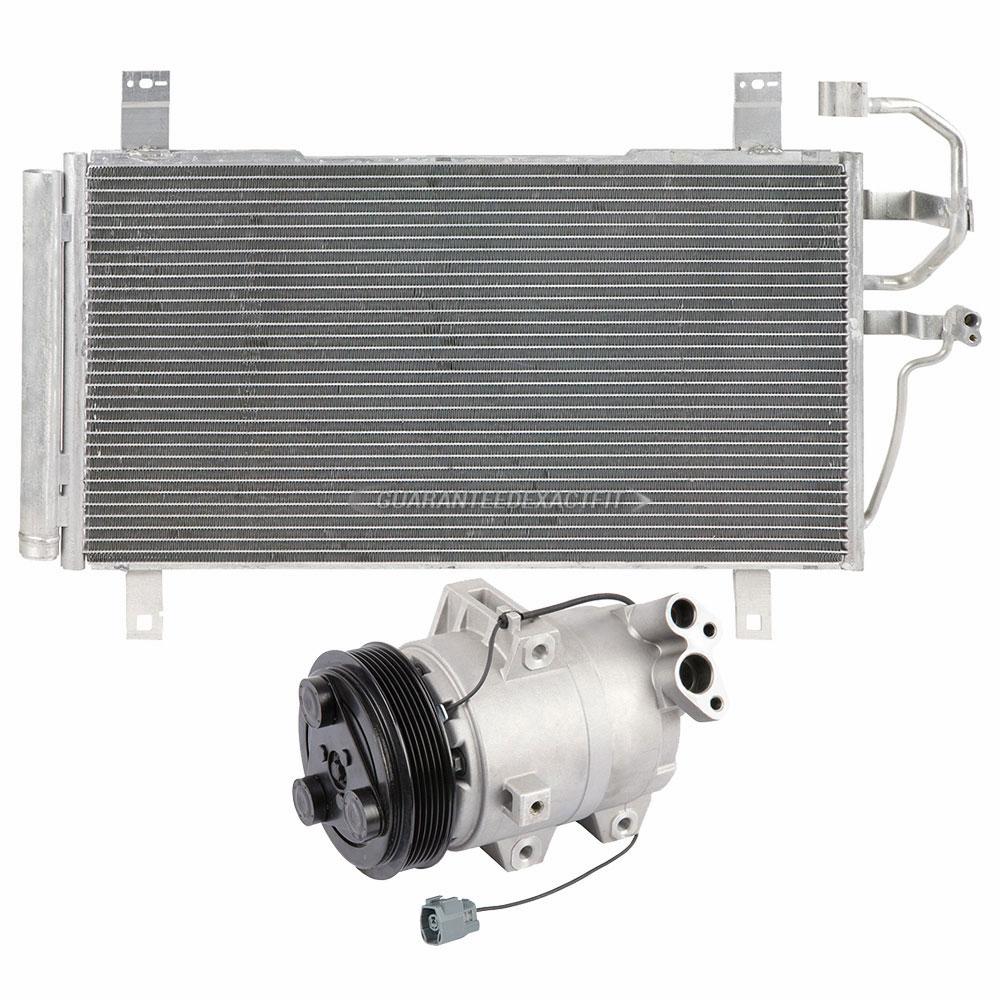 Mazda 6 3 0l Engine Automatic 2005 2008: 2005 Mazda 6 A/C Compressor And Components Kit 3.0L Engine 60-89676 R3