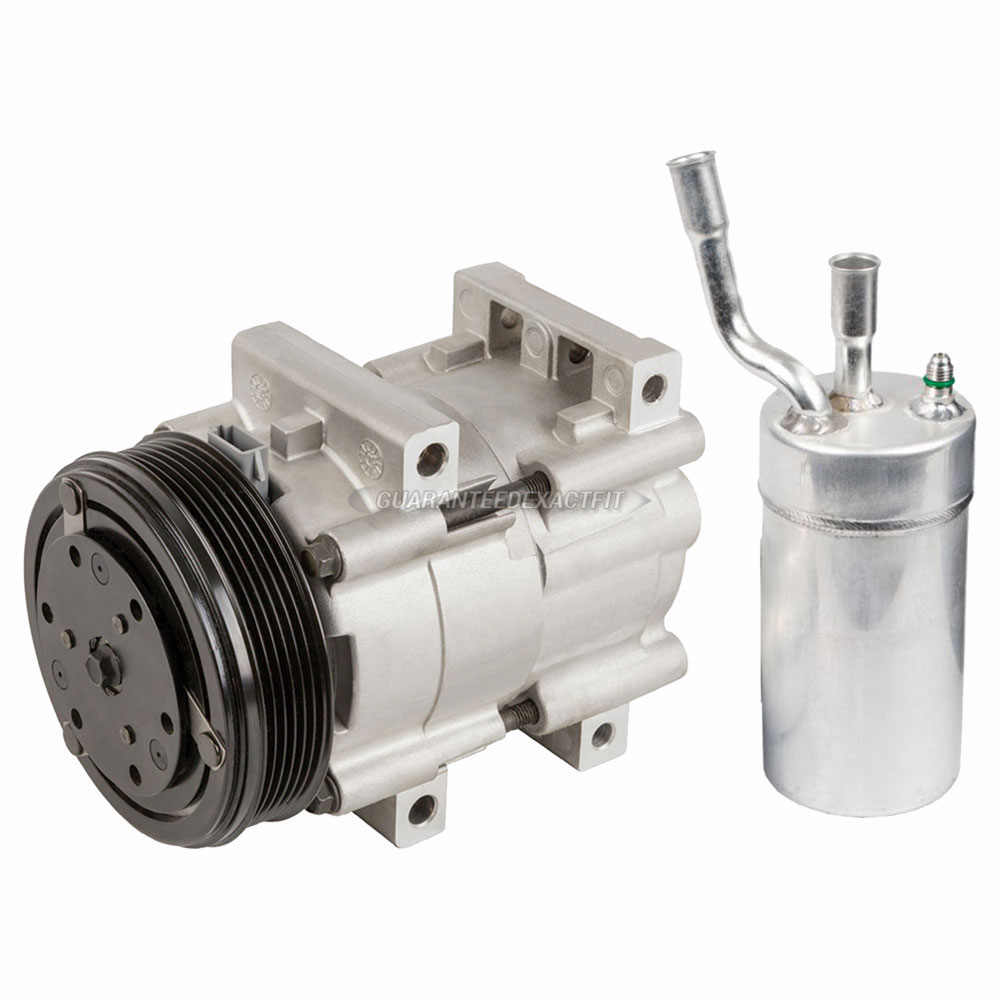 For Mercury Cougar 2000 2002 Replace 2fzw Remanufactured: 2000 Mercury Cougar A/C Compressor And Components Kit 2.0L