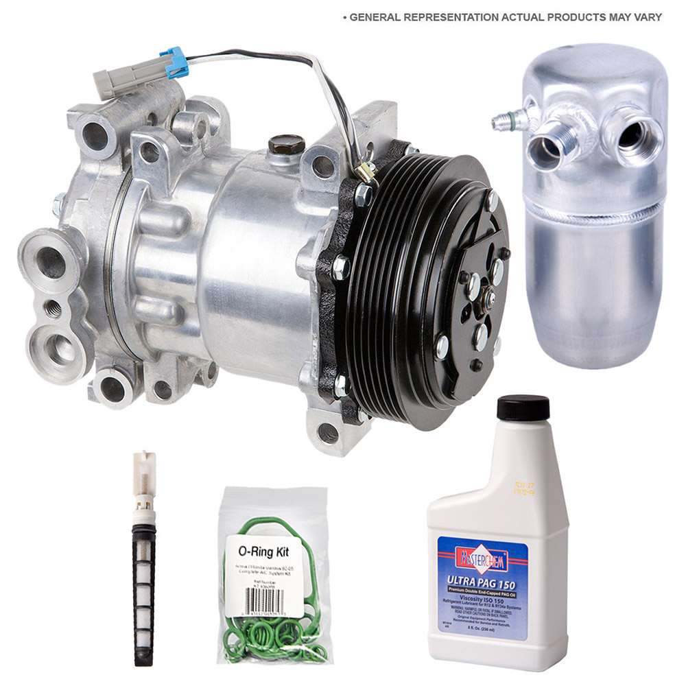BMW 640i xDrive A/C Compressor and Components Kit