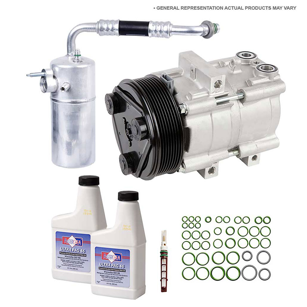 Audi V8 Quattro A/C Compressor and Components Kit