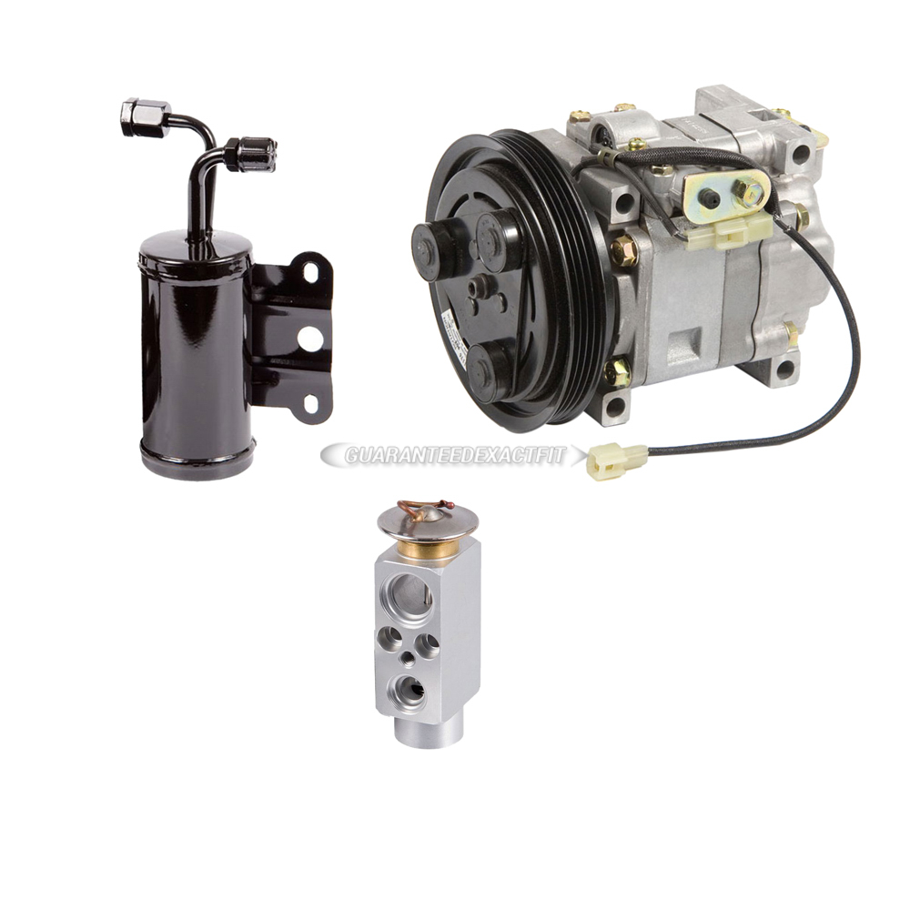 Mazda Protege A/C Compressor and Components Kit