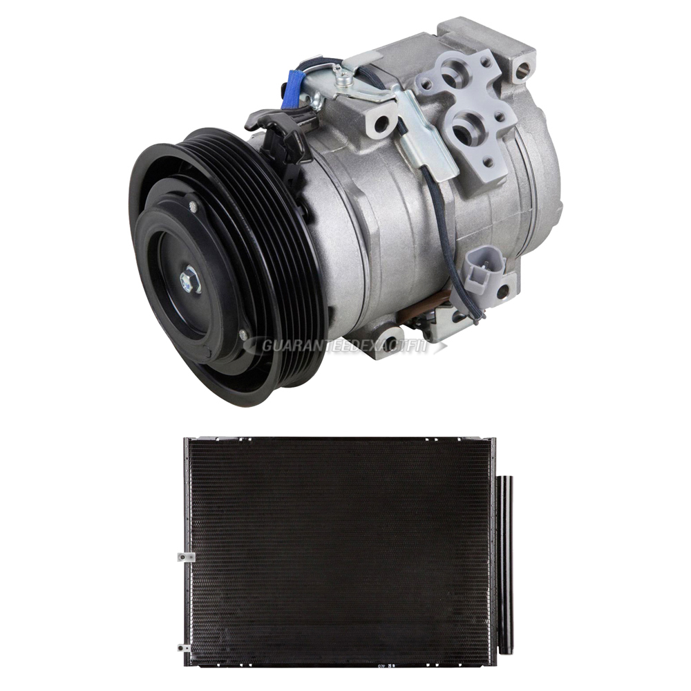 AC Compressor w// A//C Drier For Lexus RX330 2004 2005 2006 TCP
