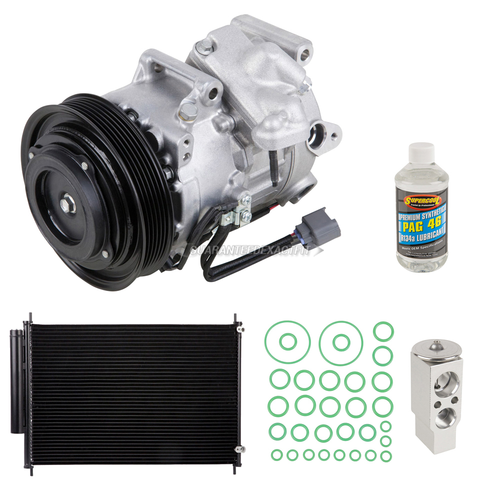 2006 Acura RL A/C Compressor And Components Kit All Models