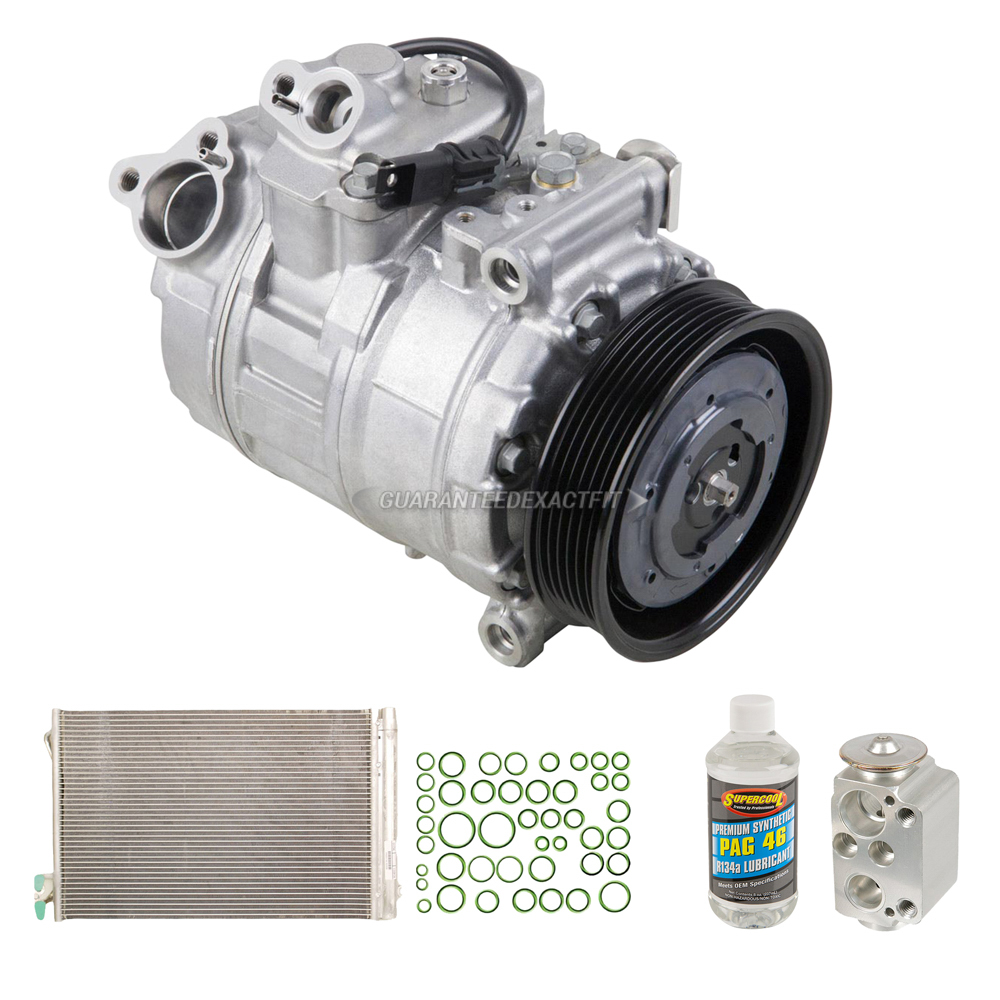 2011 BMW 328i XDrive A/C Compressor And Components Kit All