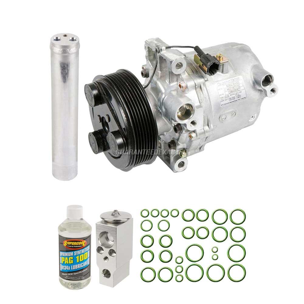 AC Compressor w// A//C Condenser /& Repair Kit For Nissan Altima 2002-2008