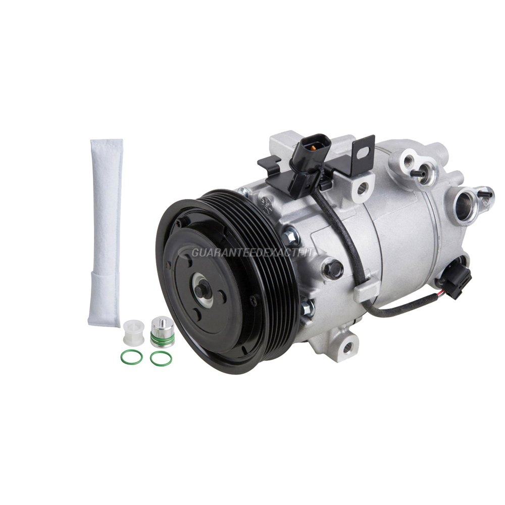BuyAutoParts 60-01939NA NEW AC Compressor /& A//C Clutch For Chrysler 300 /& Dodge Magnum Charger
